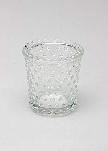 Floral Home Heirloom Hobnail Glass Votive Candle Holder - 3
