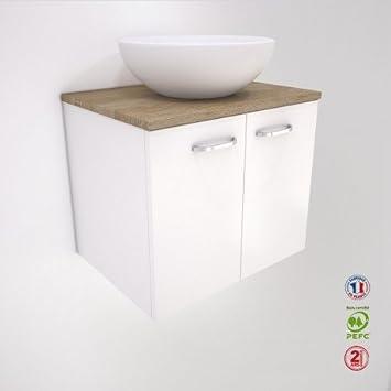 Liineo – Waschtisch Badezimmer – 2 Türen – Waschtisch Schüssel ...