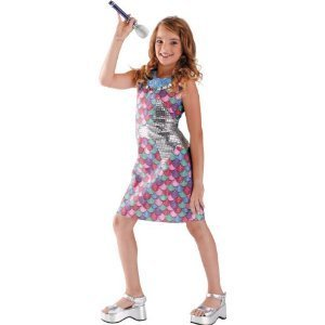 Hannah Montana Movie Dress Costume Size (Hannah Montana Halloween Costumes)