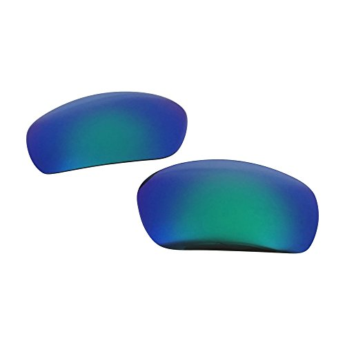 ReVive Optics Unisex-Adult Replacement Lenses (for Oakley Jawbone Polarized), (Green Mirror, One Size), 1 - Oakley Jawbone Green