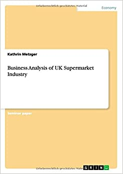 Book Business Analysis of UK Supermarket Industry