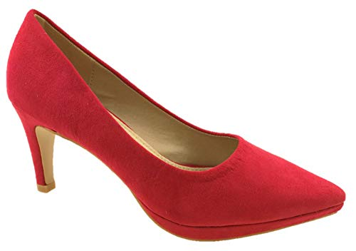 Red Azaray Escarpins Escarpins Femme Femme Azaray Red 7qvY8zw