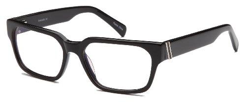 Mens Thick Prescription Eyeglasses Frames 56-17-135-38 in - 17 Glasses 56