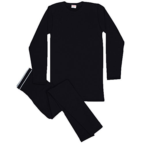 Rocky Men's Thermal Fleece Lined Long John Underwear 2pc Set (Medium, - Fleece Long Underwear