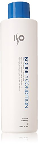 Iso Bouncy Condition Curl Defining Conditioner, 33.8 Fluid Ounce (Curly Creme)