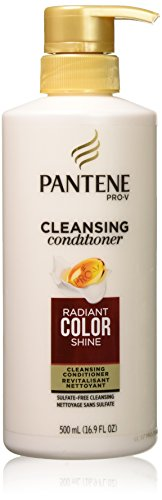 Pantene Pro-V Radiant Colour Shine Cleansing Conditioner, 500 mL, Packaging may vary