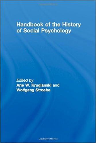 Amazon com: Handbook of the History of Social Psychology