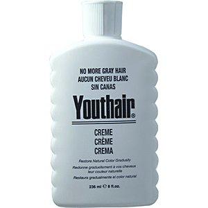 Youthair Creme pour les hommes avec les cheveux Conditioner & toiletteur redonnent de la couleur naturelle Progressivement 8 oz / 236ml