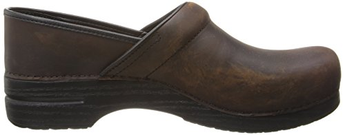 Dansko Professional–Pantalón de box piel zuecos antique brown oiled leather