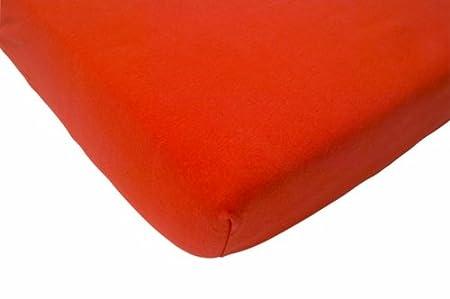 Jollein 511_0027 Spannlaken Jersey, 40 x 80 cm, orange