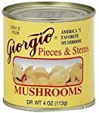Giorgio Mushroom Pieces N Stem (6 Pack)