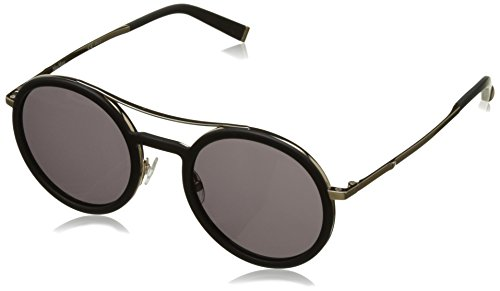 Max Mara MM Oblo V28 Black / Gold MM Oblo Round Sunglasses Lens Category 3 - Max Mens Mara