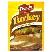 French's Turkey Gravy Mix, 0.88 Oz (Pack of 6) (Turkey Gravy Packets)
