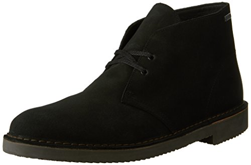 CLARKS Men's Desert Boot GTX, Black Suede, 10.5 D-Medium ()