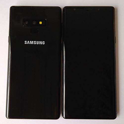 1:1 Dummy Non-Working Shop Display Fake Phone Model Scale Toy for Samsung Galaxy Note 9 Black with Black Screen