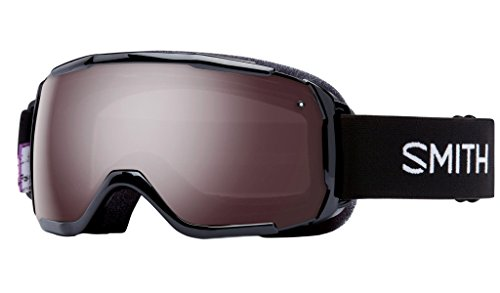 Smith Optics Grom Youth Junior Series Ski Snowmobile Goggles Eyewear - Black Angry Birds / Ignitor Mirror / - Al Mobile Eyeglasses