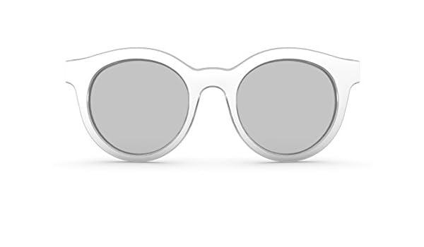 Swatch - Gafas de sol - para mujer blanco Weiß: Amazon.es ...