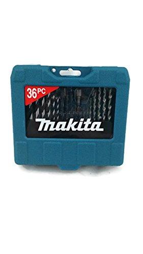 Makita 36 Piece Drill Bit Set Screwdriver p-90320 (Drill Driver Set Makita)