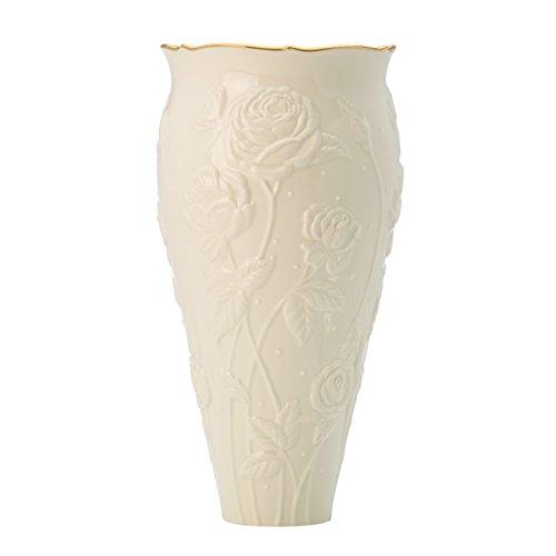 Ivory Rose Large Vase by Lenox (Lenox Ivory China)