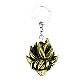Anime Dragon Ball Keychain Vegeta Trunks Key Ring Holder Metal Fashion Car Chaveiro Key Chain Pendant men Gift Jewelry