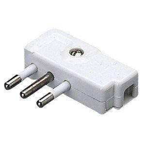 Enchufe Gewiss GW28008 2P Gris conector el/éctrico 10 A