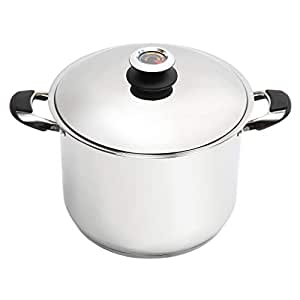 Lorren Home Trend s 15-quart Stainless Steel Dutch Oven
