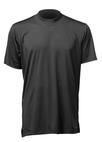 Mizuno Men's MzO Tee G2 (Black, X-Small)