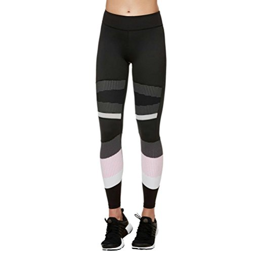 Women Leggings Liraly Women Sports Gym Yoga Workout Mid Waist Running Pants Fitness Elastic Leggings - Sunglasses Under Parts Armour