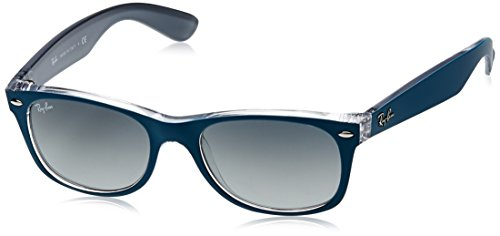 Ray-Ban New Wayfarer Square, TOP MT Petroleum ON Grey, 52 mm -