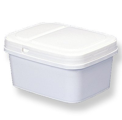Square Pail Lid - 1 gal. Short Square Ez Stor Bucket Pail and lid, 12 Pack