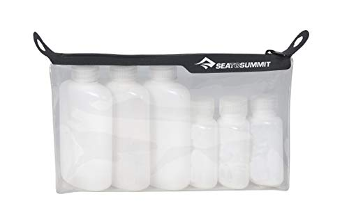 Sea to Summit TravellingLight TPU Clear Zip Top Pouch (Clear, 1 Quart)