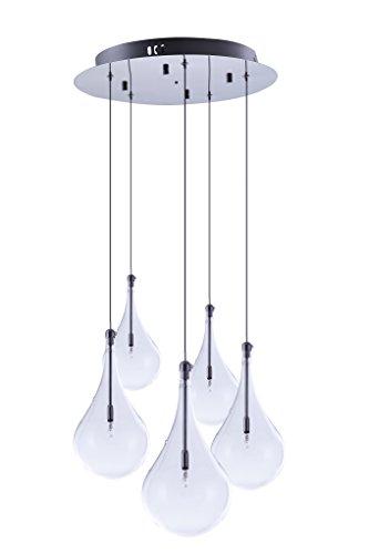 Larmes 5 Light Pendant in US - 2