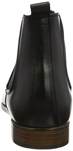 Bertie Black Chelsea Nero Molecule Stivali Leather Uomo aqxzaF