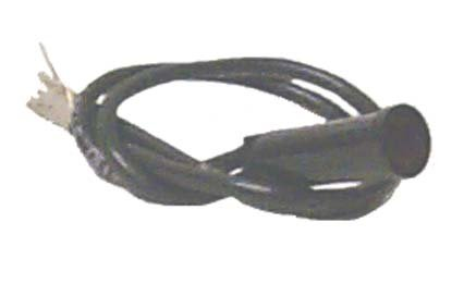 125v Wire Lead - Sierra International UN22150 Small Indicator Light for 125 VAC Use Only with Tinned Copper Wire Leads & 5/16
