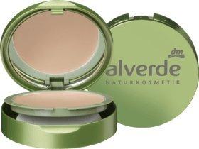 alverde Natural cosmético Vegan compacto de maquillaje Beige de Rosé 030, 1 St