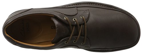 Clarks Butleigh Edge, Scarpe Stringate Uomo Marrone (Walnut Leather)