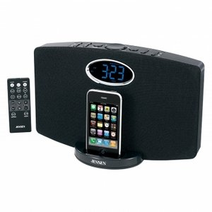 Jensen JIMS-211i Docking Music System for iPod and iPhone (Black)