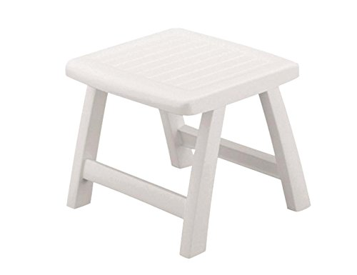KETTLER Roma Patio Ottoman in White ()