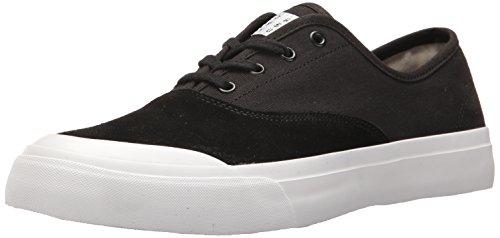 HUF Men's Cromer Skateboarding Shoe, Black/White, 10.5 US/10.5 M US