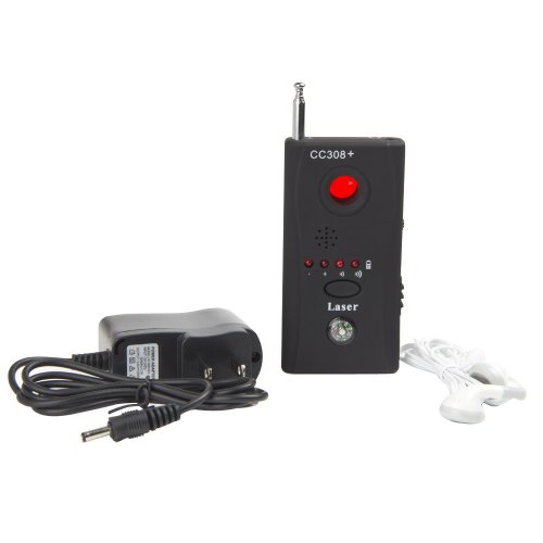 LanLan CC308+ Multi-Detector Full-Range All-Round Detector For Hidden Camera / IP Lens/ GMS BUG / RF Signal Detector Finder