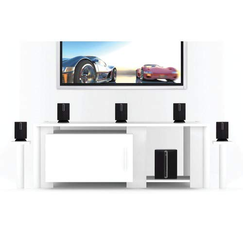 iLive HT050B 5.1 Channel Home Theater Speaker System Computer Audio BLACK by iLive