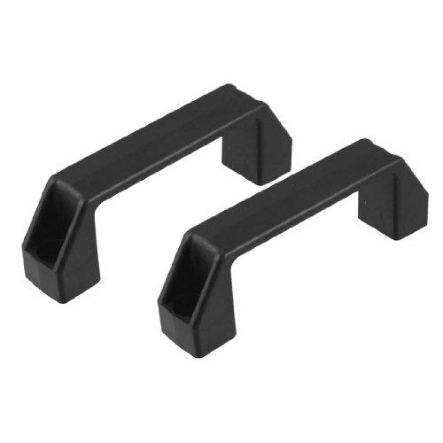 "uxcell Cabinet Drawer Door Plastic Handle Pull Knob 120mm 4.7"" 2 Pcs"