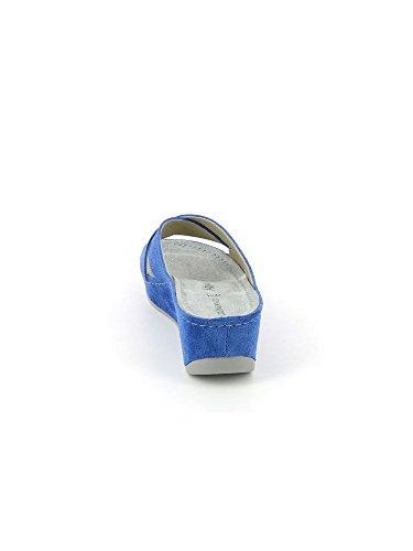 Grunland CI1241 REGI CIABATTA DONNA P. azul claro