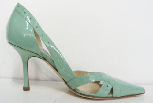 Jimmy Choo , Escarpins pour femme Vert Pale Green 37 (4.5 UK)