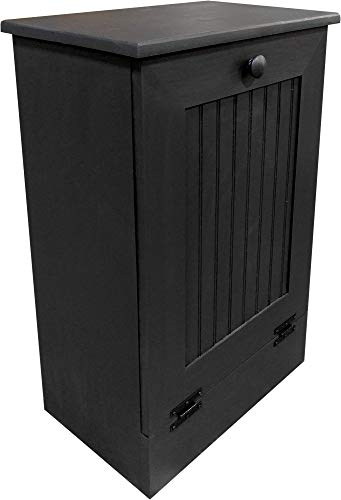 Sawdust City Tilt-Out Garbage Cabinet (Solid - Black)