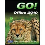 GO! with Microsoft Office 2010, Vol. 1, and Student Videos, Gaskin and Gaskin, Shelley, 0132743701