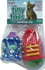 Vo-Toys Latex Shoe and Hydrant 2 pack Dog Toy Assorted Colors and Styles