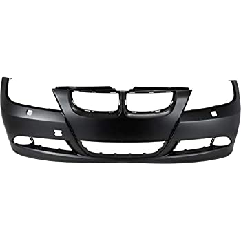 Painted to Match MBI AUTO BM1100164 Rear Bumper Cover for 2006-2008 BMW 323 325 328 330 Sedan 3 Series 06-08