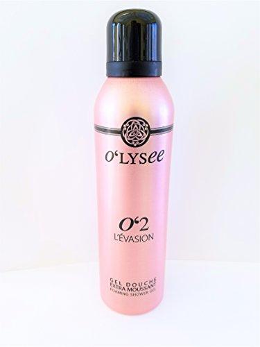 - O'lysee O'2 L'evasion Foaming Shower gel 6.76 oz Rose violet heliotrope