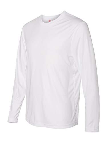 Hanes Cool DRI® Performance Men's Long-Sleeve T-Shirt (Mens Dri Fit Long Sleeve T Shirts)